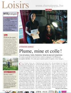 article champigny notre ville